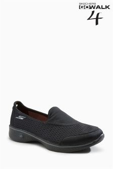 Skechers® Black Go Walk 4 Pursuit