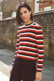 Whistles Multi Stripe Knit