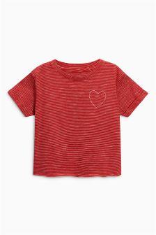 Boxy Slogan T-Shirt (3-16yrs)
