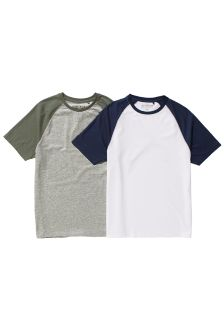 Raglan T-Shirts Two Pack