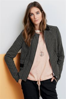 Boxy Zip Jacket