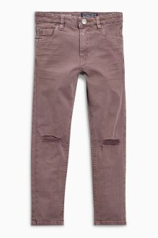 Rip Knee Skinny Five Pocket Trousers (3-16yrs)