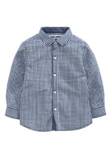 Long Sleeve Gingham Shirt (3mths-6yrs)