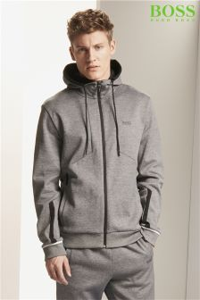 Boss Green Grey Selnio Hoody