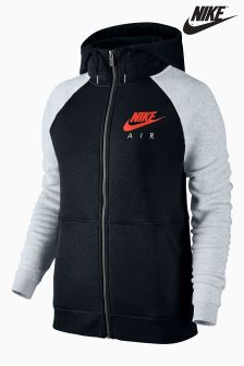 Nike Black/White Sportswear Rally Hoody