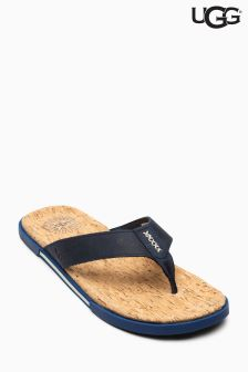 UGG® Navy Braven Toe Post Sandal