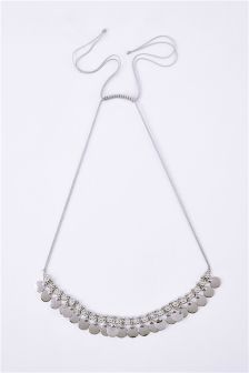 Coin Statement Short Necklace