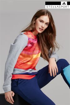 adidas StellaSport Grey Nature Print Sweater