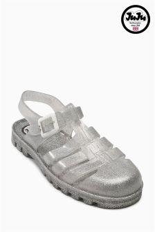 JuJu Jelly Flat Sandal