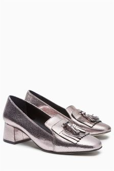 Fringed Loafers