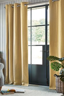 Mini Geo Eyelet Curtains