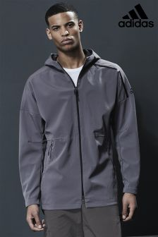 adidas Grey ZNE DNA Jacket