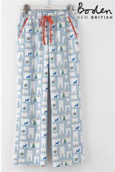 Boden Grey Print Pyjama Pant