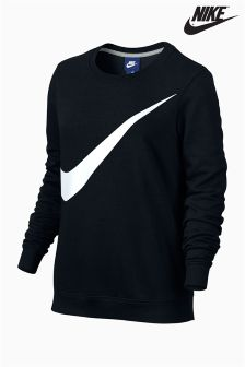 Nike Black Crew Neck Sweater