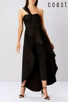 Coast Black Louis Jumpsuit
