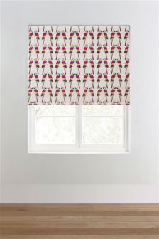 Blackout Retro Parrot Roller Blind