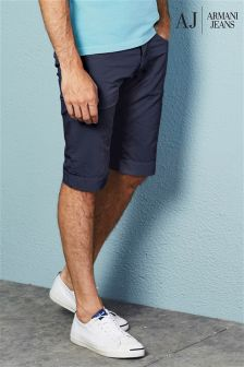 Armani Jeans Navy Five Pocket Short