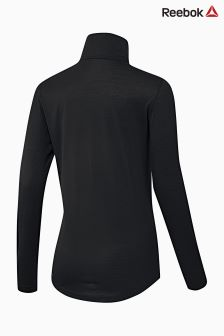 Reebok Run Black Training Workout Ready Supremium Jacket