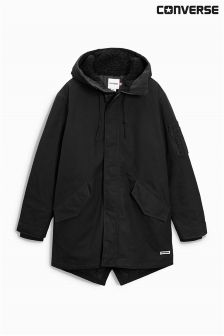 Converse Black Shield Fishtail Jacket