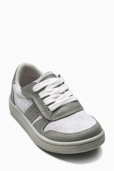 Retro Lace Look Trainers (Younger Boys)