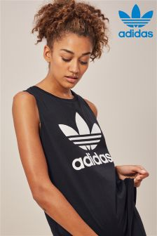 adidas Originals Black Loose Tank