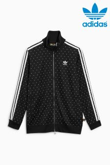 adidas Originals Black Pharrell Williams Print Track Top