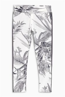 Floral Sport Leggings (3-16yrs)