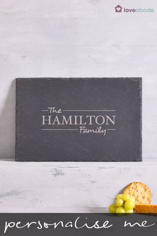 Personalised Family Cheeseboard By Loveabode