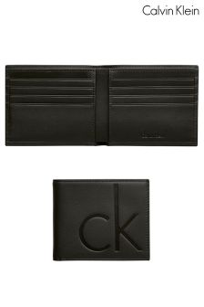 Calvin Klein Slim Fold Leather Wallet