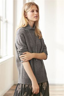 Oversized Cosy Cowl Neck Sweater