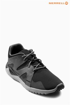 Merrell® Black/Grey Isix 8 Lace Trainer