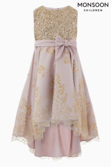 Monsoon Gold Principessa Dress
