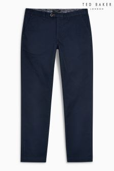 Ted Baker Navy Curly Chino