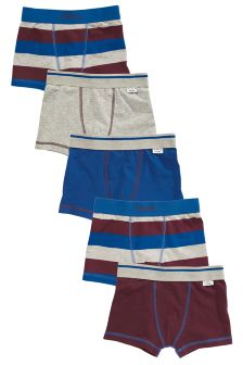 Stripe Trunks Five Pack (2-16yrs)