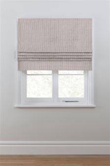 Stripe Roman Blind