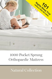 1000 Pocket Sprung Natural Orthopaedic Mattress