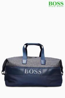 Hugo Boss Green Grey Holdall