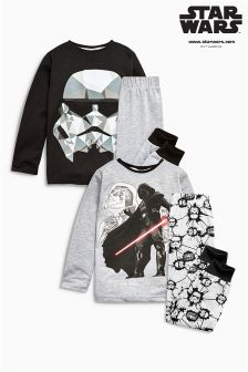 Geo Star Wars™ Pyjamas Two Pack (3-12yrs)