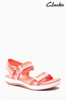Clarks Coral Pink Cloudstepper Active Sandal