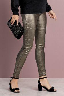 Maternity Bronze Jeans