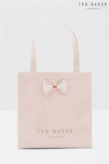 Ted Baker Pink Small Bow Aracon Shopper