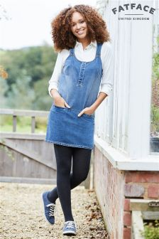 Fat Face Mid Denim Layla Dress