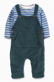 Cord Dungarees (0mths-2yrs)