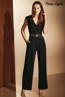 Phase Eight Black Adelaide Jumpsuit