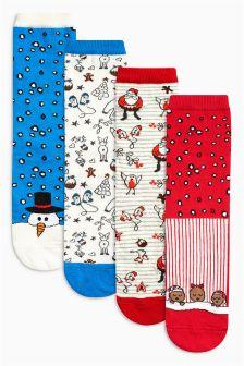 Ankle Socks Four Pack