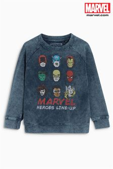Washed Marvel® Crew (3-16yrs)