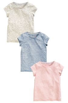 Short Sleeve T-Shirt Three Pack (3-16yrs)