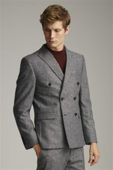 Buy Men's suits Suits Grey Double Breasted from the Next UK online ...