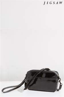 Jigsaw Black Wren Crossbody Bag