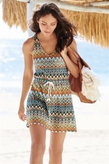 Multi Zig Zag Dress